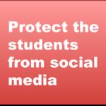 ソーシャルメディアから生徒と教職員を守る